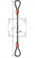 СКП (УСК1) - стропы канатные петлевые