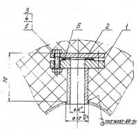 Закладная конструкция ЗК4-1-4-95